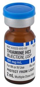 iv thiamine b1, low cost lifesaver